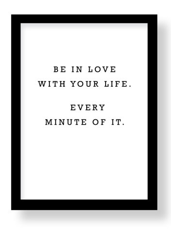 BE IN LOVE