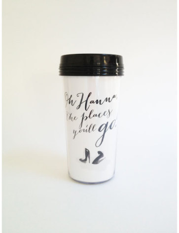 TAKE AWAY CUP - OH, THE PLACES...