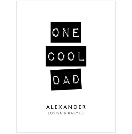 ONE COOL DAD/MOM