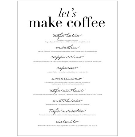 LET�S MAKE COFFEE