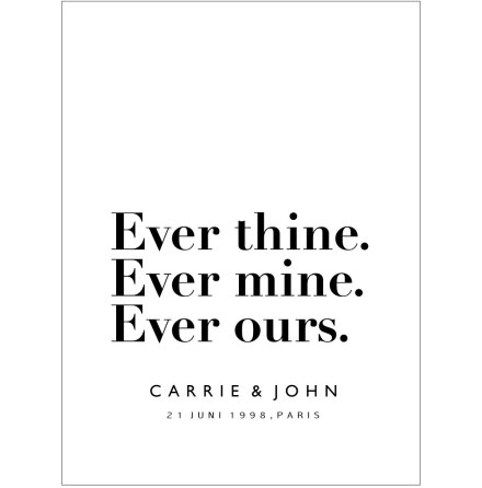 EVER THINE