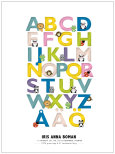 BOKSTÄVER & DJUR stora bokstäver