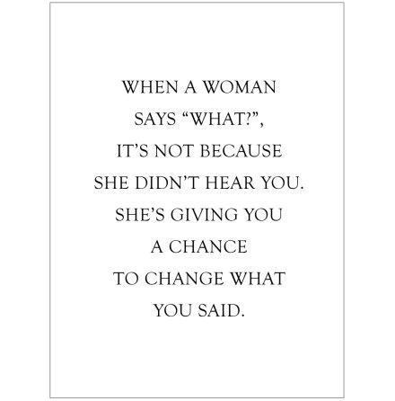 A CHANCE