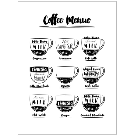 COFFEE MENUE