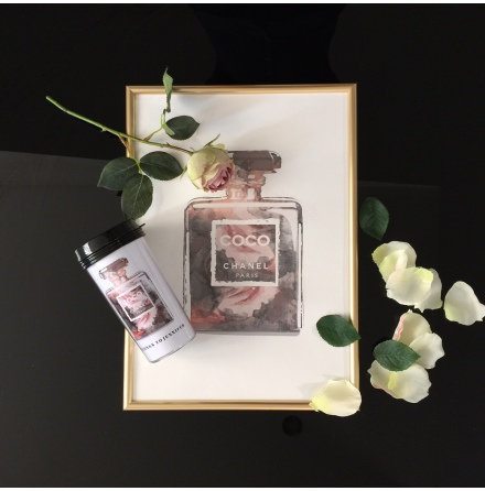 TAKE AWAY CUP - CHANEL ROSES