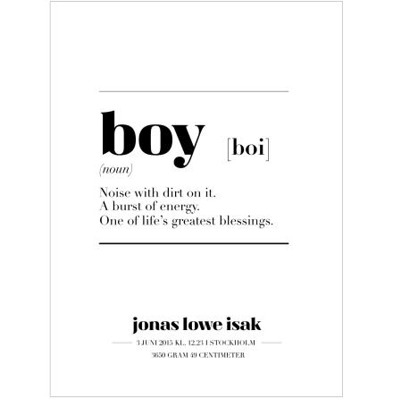 BOY IS