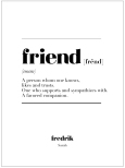 FRIEND IS