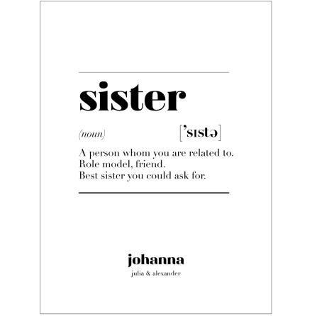 SISTER IS
