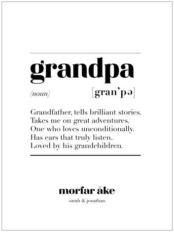 GRANDPA IS