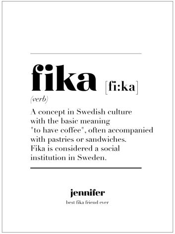 FIKA IS