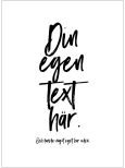 DIN EGEN TEXT SIX