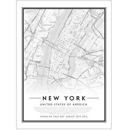 CITY MAP - NEW YORK