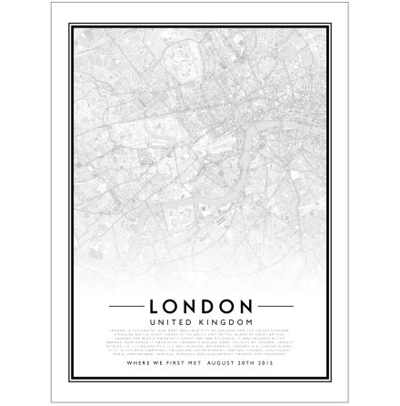 CITY MAP - LONDON