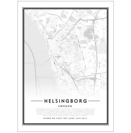 CITY MAP - HELSINGBORG