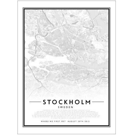 CITY MAP - STOCKHOLM