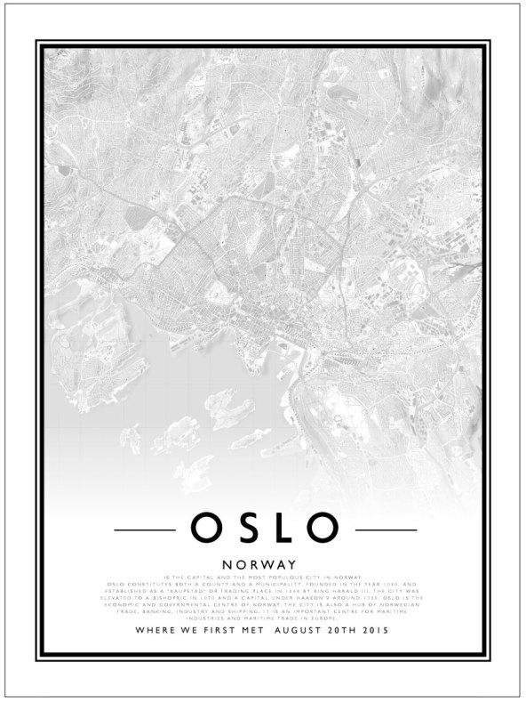 CITY MAP - OSLO