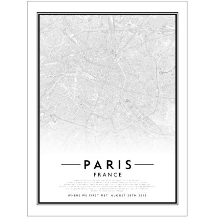 CITY MAP - PARIS