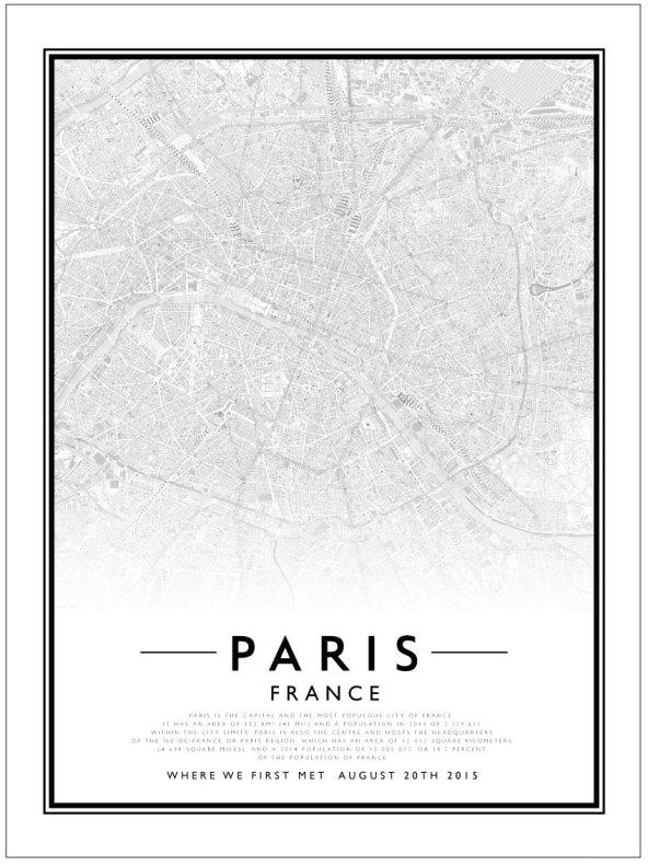 CITY MAP - PARIS