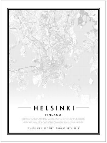 CITY MAP - HELSINKI