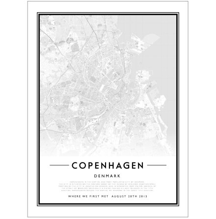 CITY MAP - COPENHAGEN