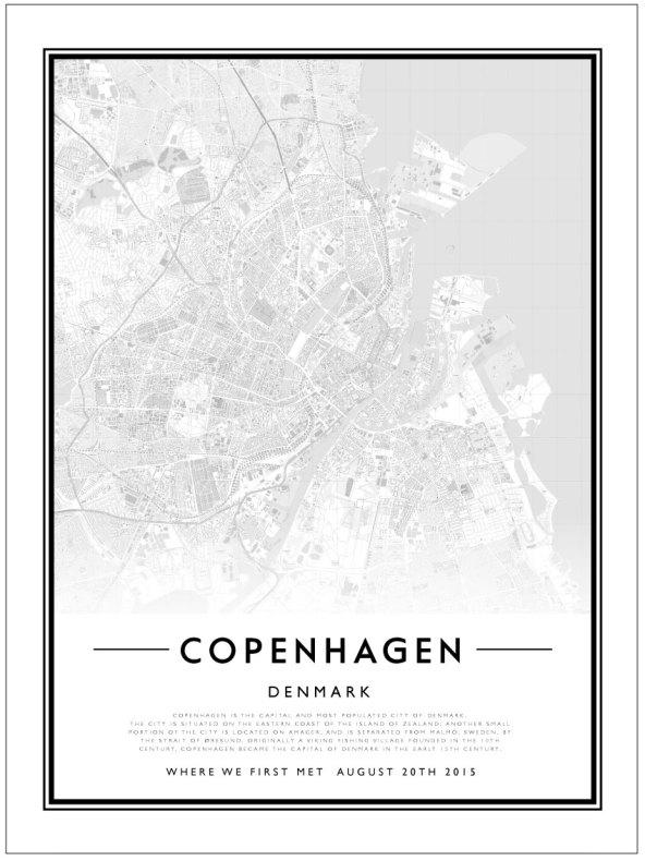 CITY MAP - COPENHAGEN
