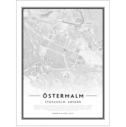 CITY MAP - ÖSTERMALM