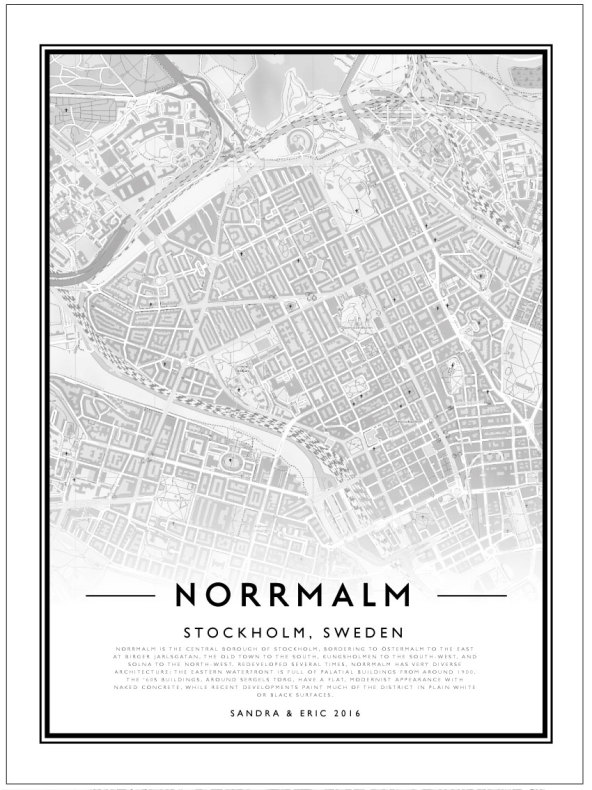 CITY MAP - NORRMALM