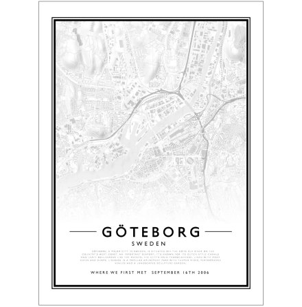 CITY MAP - GÖTEBORG