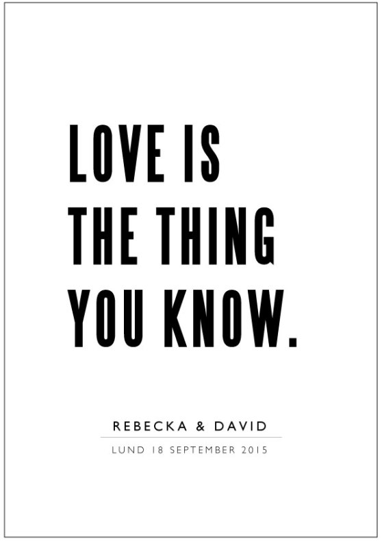 Image result for love is the thing you know