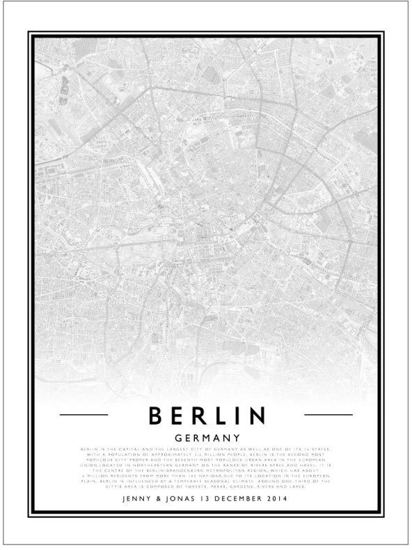 CITY MAP - BERLIN