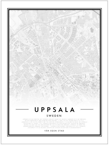 CITY MAP - UPPSALA