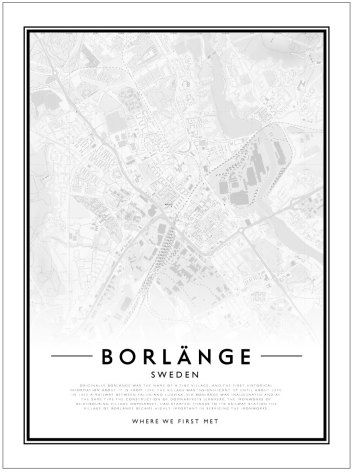 CITY MAP - BORLÄNGE