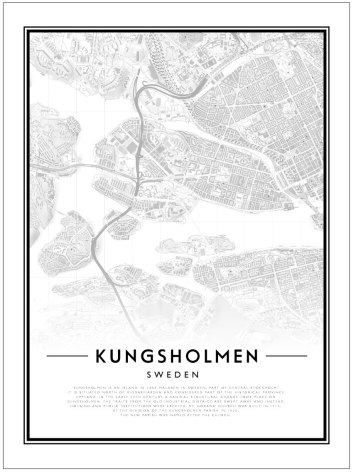 CITY MAP - KUNGSHOLMEN