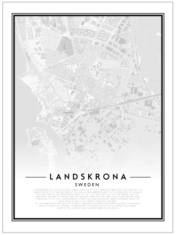 CITY MAP - LANDSKRONA