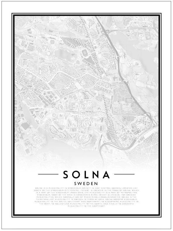 CITY MAP - SOLNA