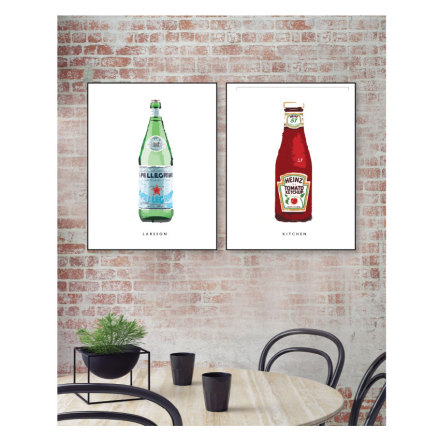 EAT & DRINK 2 ST POSTERS