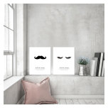PARPOSTERS - LASH AND MUSTACHE 2 ST POSTERS
