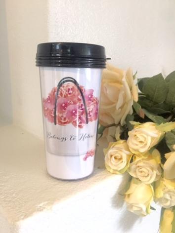 TAKE AWAY CUP - FLOWERS FLOWERS