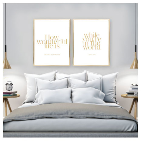 PARPOSTERS - HOW WONDERFUL 2 ST POSTERS