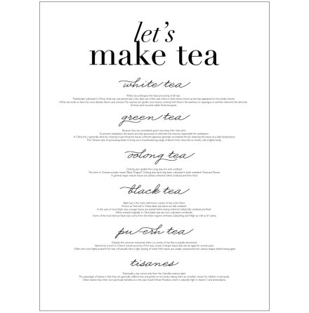 LET'S MAKE TEA