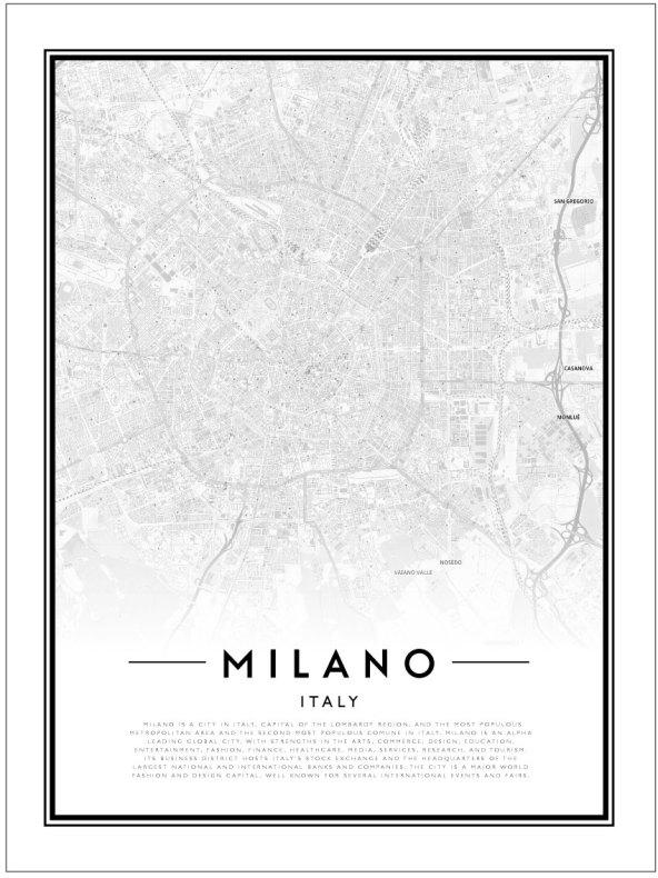 CITY MAP - MILANO