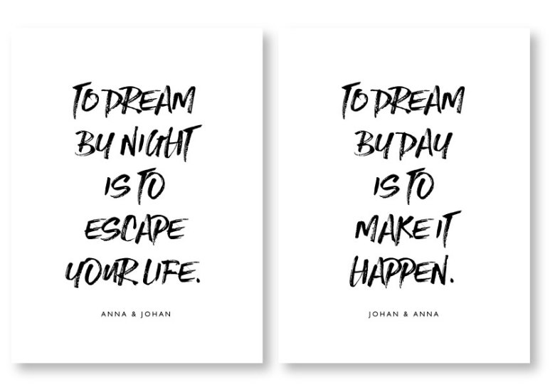 PARPOSTERS - TO DREAM 2 ST POSTERS
