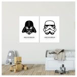 DARTH VADER & STORM TROOPER - PARPOSTERS 2 ST POSTERS