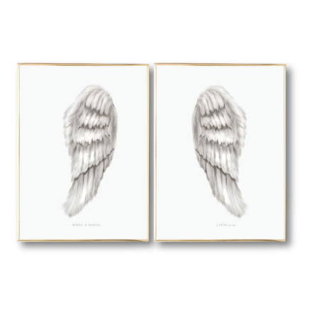 ANGEL WINGS PARPOSTERS 2 st posters