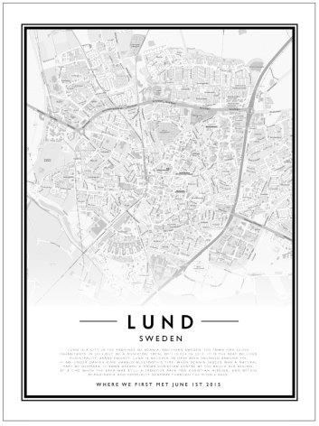 CITYMAP - LUND