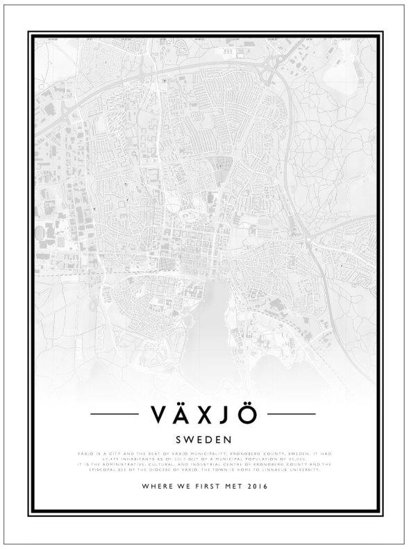 CITYMAP - VÄXJÖ