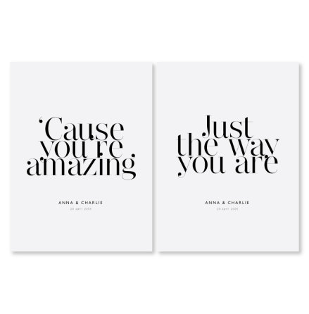 PARPOSTERS - YOU'RE AMAZING 2 st posters