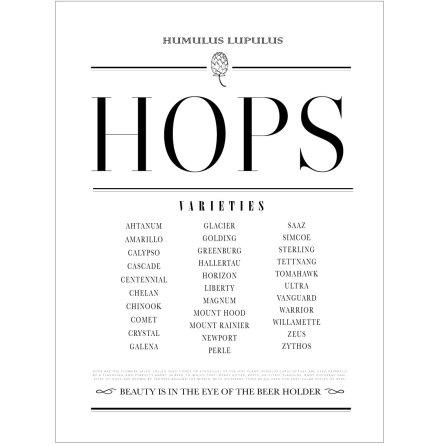HOPS ÖLPOSTER/HUMLEPOSTER