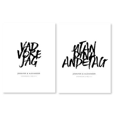PARPOSTERS - VAD VORE JAG UTAN DINA ANDETAG 2.0