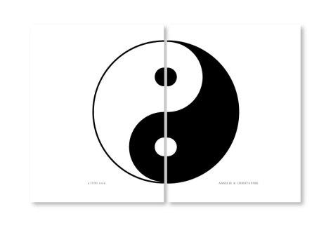 PARPOSTERS - YIN & YANG 2 st posters
